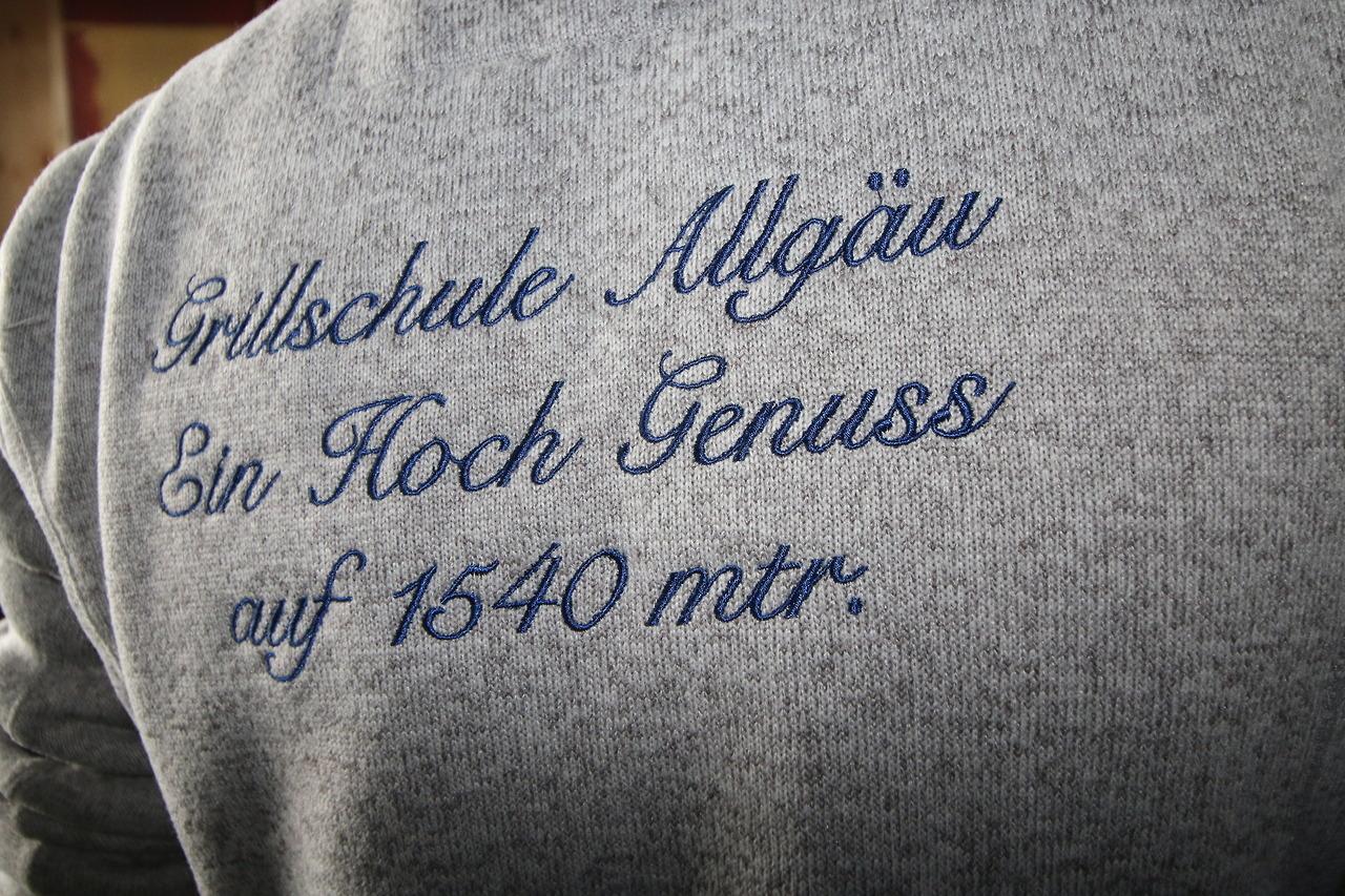 Grillschule Allgäu Impressionen