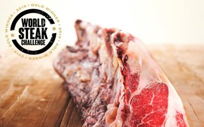 Unser Rindfleisch stammt vom Goldmedaillen Gewinner der World Steak Challenge 2019