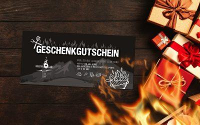 Grillschule Allgäu Geschenkgutschein