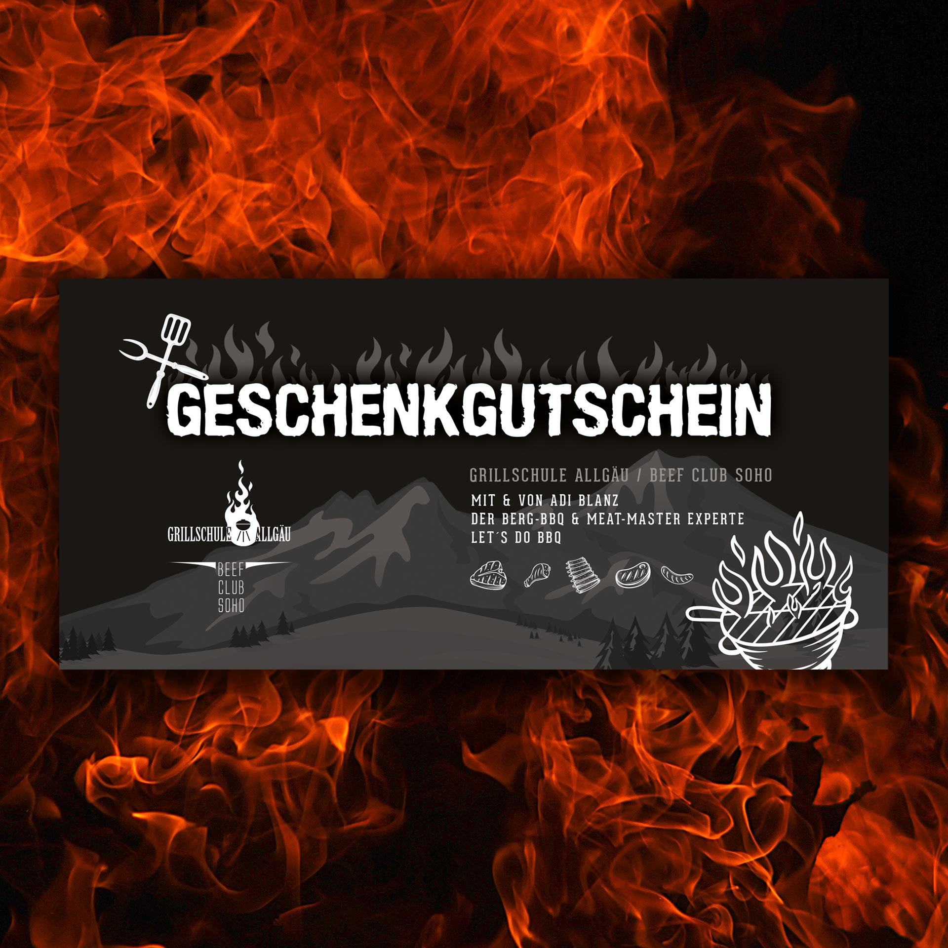 Gutschein Grillschule Allgäu